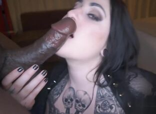 Black girl oral creampie