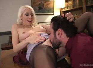 Easy broad in the beam spoils anal porn